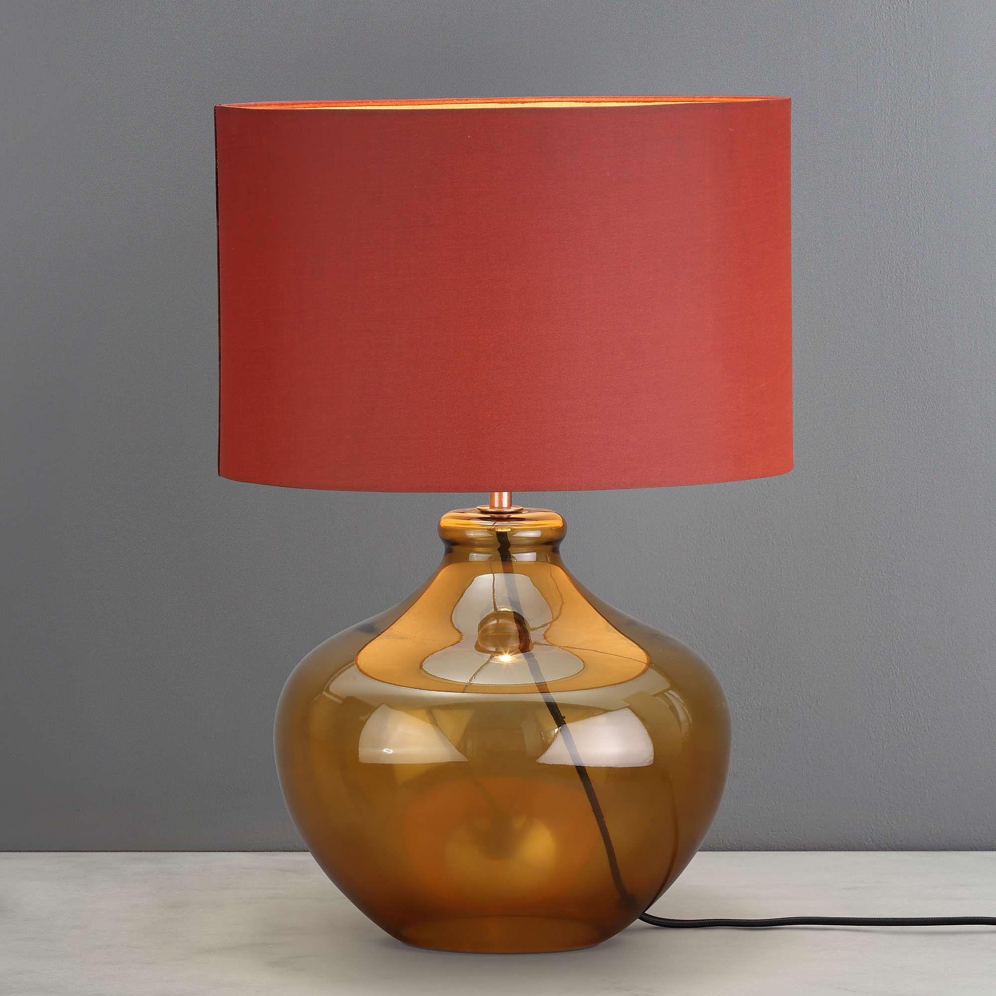Miguel Caramel Glass Table Lamp Dunelm Lamp Lamps Tablelamp Tablelamps Desklamp Lighting Homedecor Decor Table Lamp Lamp Beautiful Table Lamp