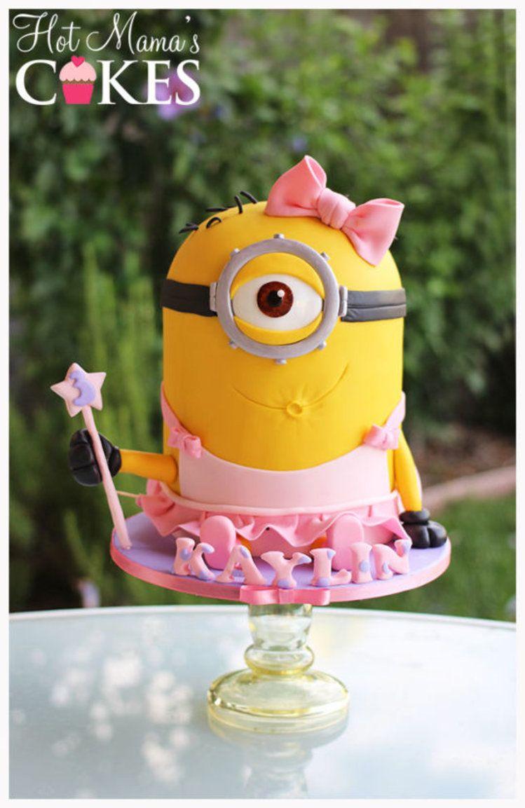 Urocza Pani Minionek Minion Cake Minion Birthday Minion Birthday Party