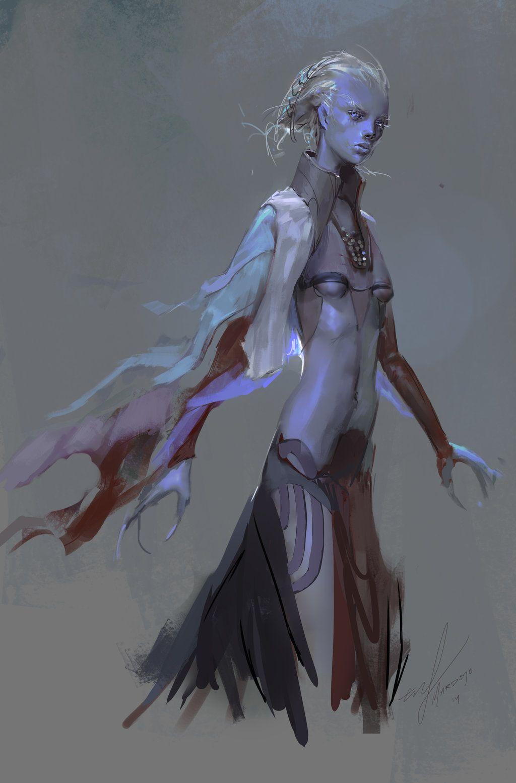 Alien Sci-Fi Female Characters
