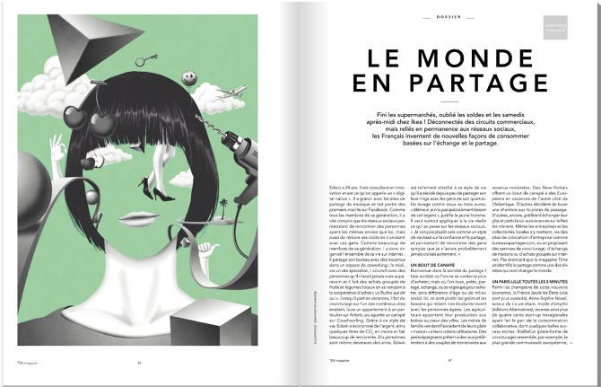 Editorial on Pinterest | Magazine Spreads, Layout and Texts