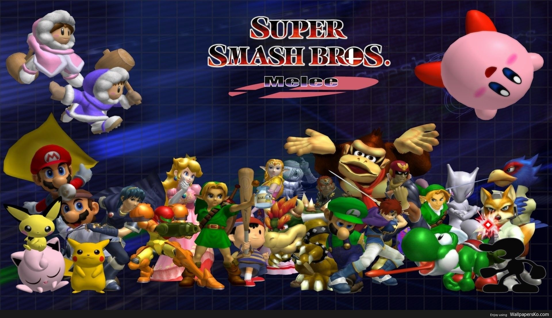 Super Smash Bros Melee Desktop Background Http Wallpapersko