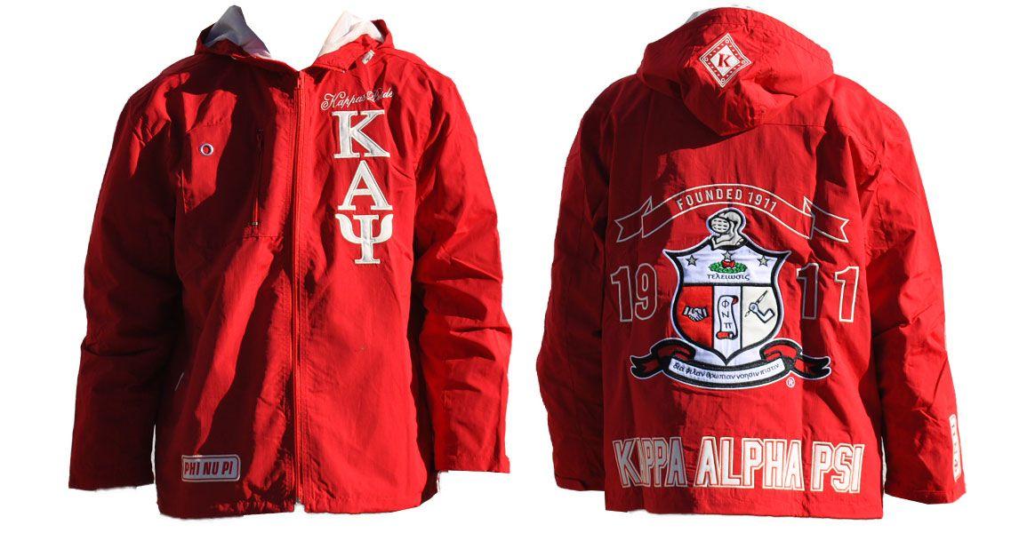 Kappa Alpha Psi Windbreaker | Kappa Alpha Psi | Kappa alpha