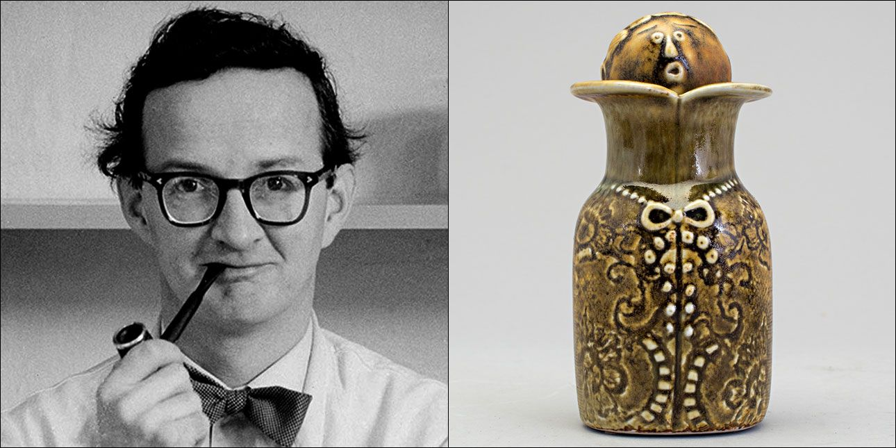 Stig Lindberg Gustavsberg Stig lindberg Vintage art Art design