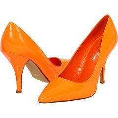 2LipsToo Neon Orange shoes