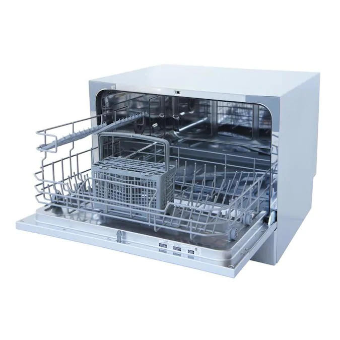 Spt 12 In 55 Decibel Portable Dishwasher White Energy Star Lowes Com Countertop Dishwasher Portable Dishwasher Dishwasher White