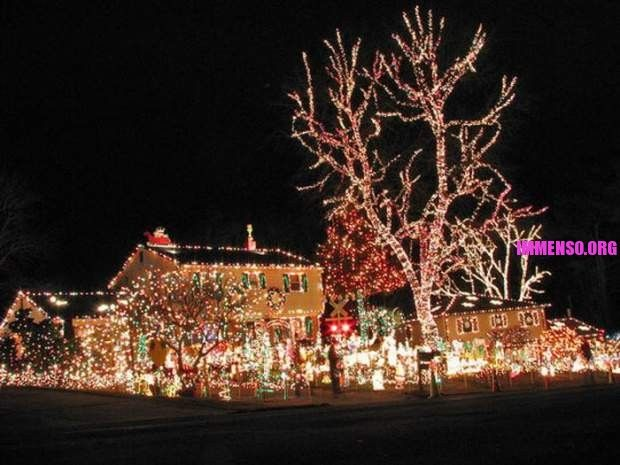 LE PIÙ BELLE DECORAZIONI NATALIZIE DI CASE! Christmas-the best - best decorated houses for halloween