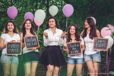 Create memories with your BFF– Bridesmaids photoshoot Ideas WE ...