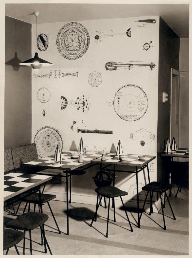 1953 the soup kitchen by terence conran they both now