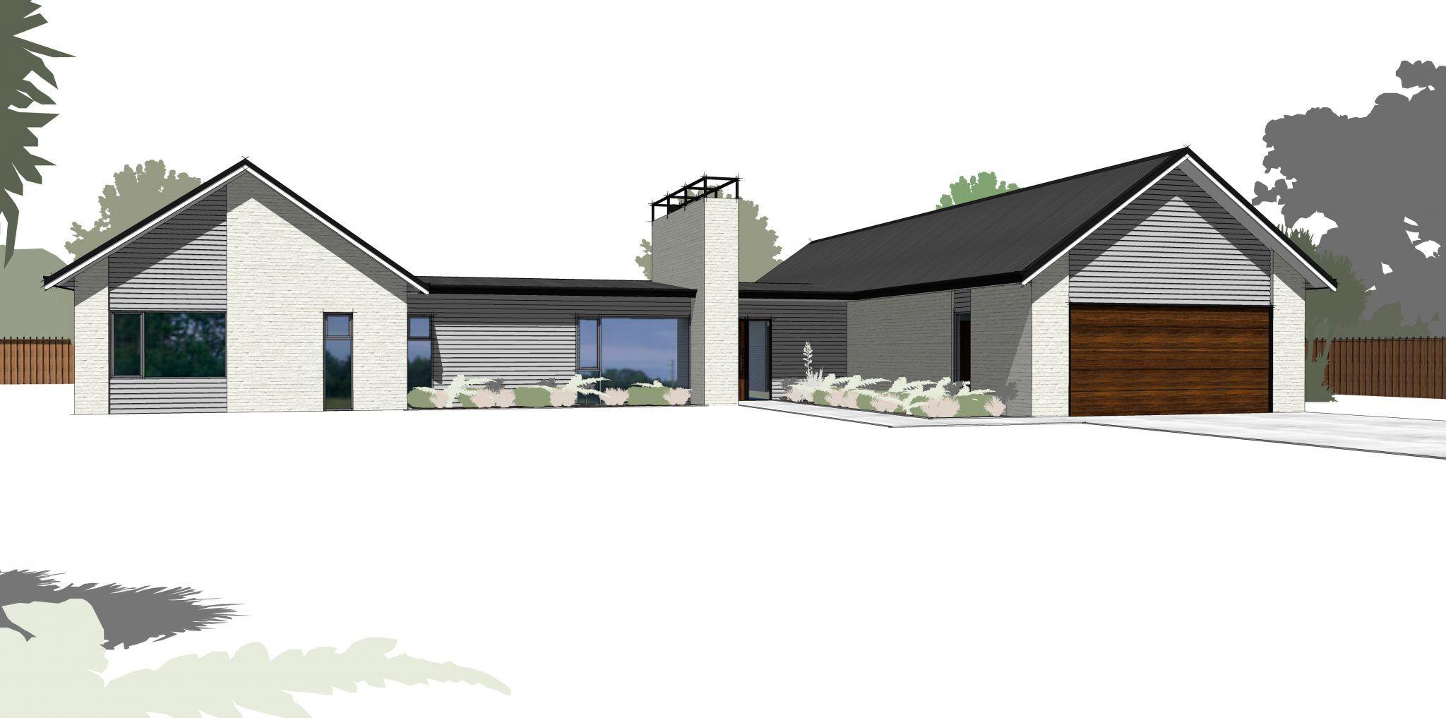 Fendalton286 Urban Homes Facade House Barn House