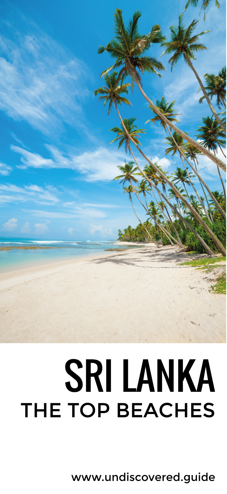 Sri Lanka is blessed with some beautiful sands - here's our guide to the top beaches http://www.undiscovered.guide/sri-lanka/beach-guide #SriLanka #Travel