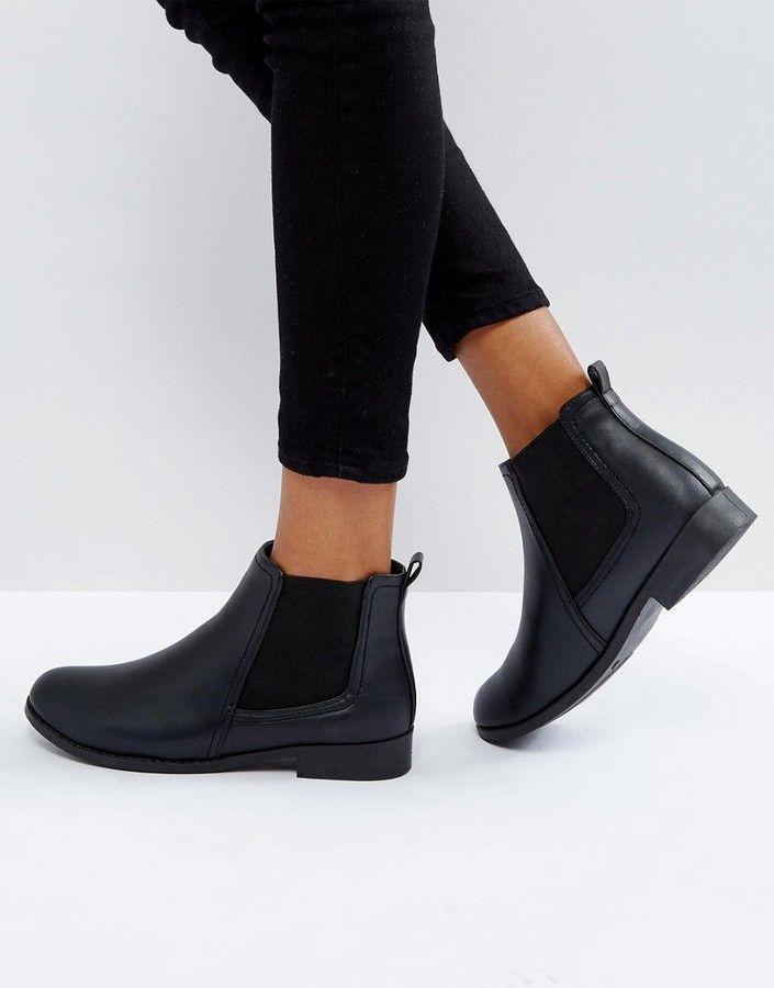 boohoo Flat Chelsea Boot   Flat chelsea