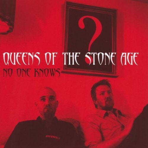 Queens of the Stone Age – No One Knows (single cover art)