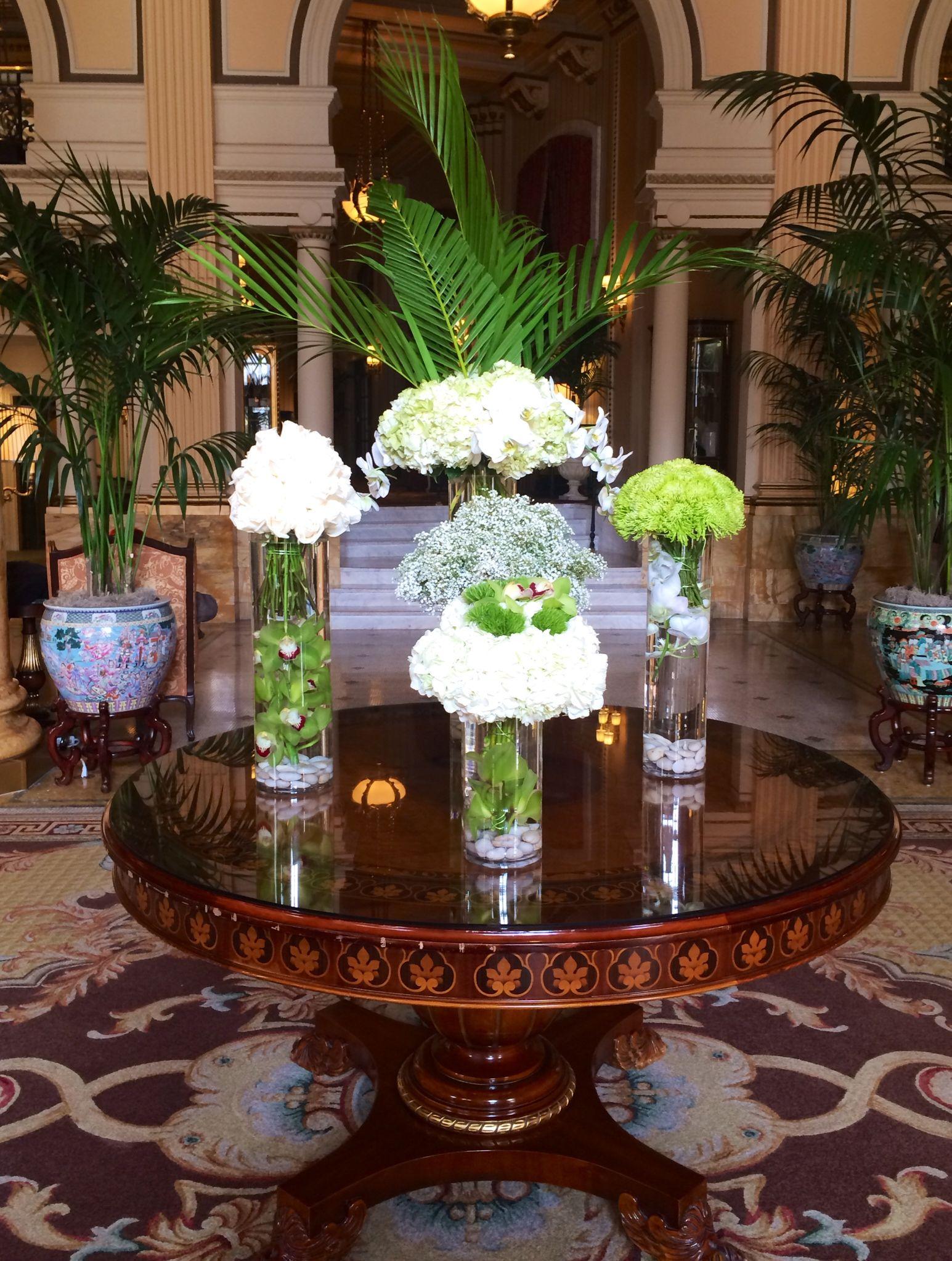 Florals in the lobby floral floralarrangement willard