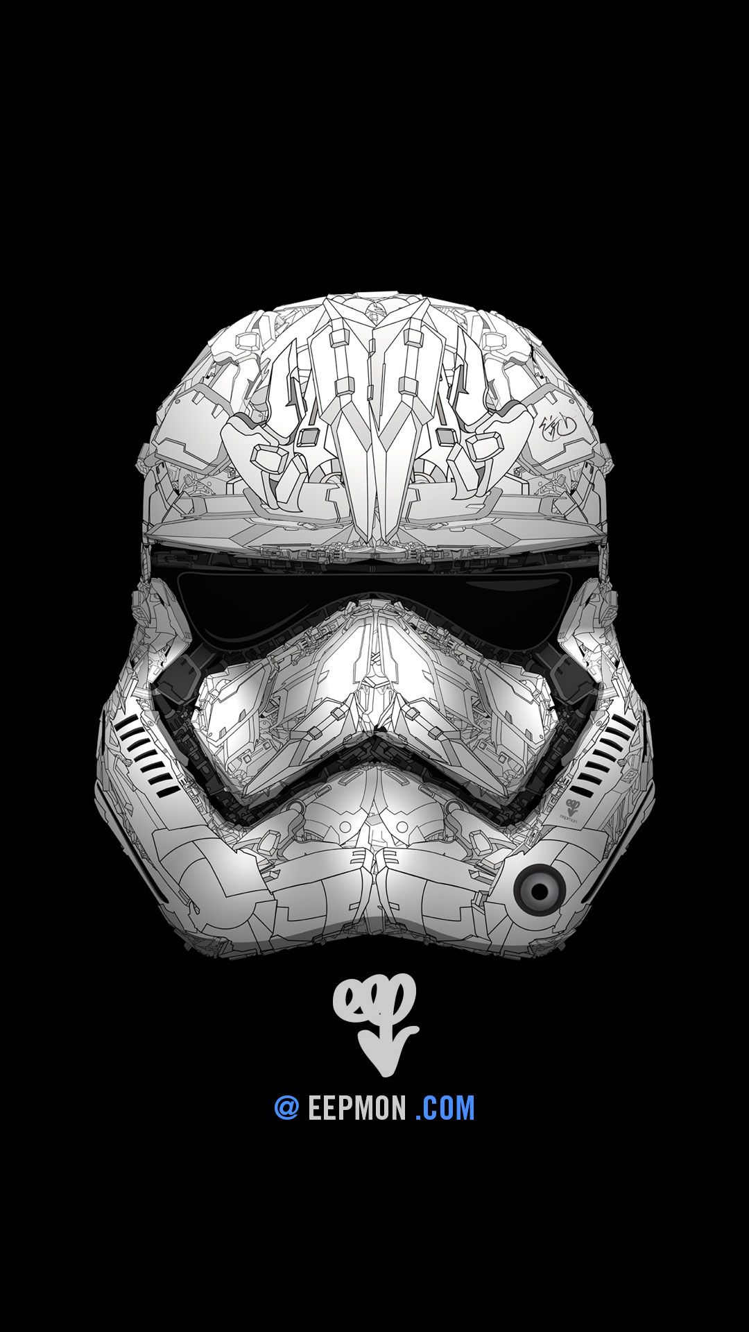 Stormtrooper Star Wars iPhone wallpaper Fondos de