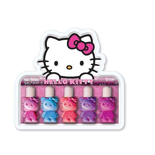 Hello kitty 5 pack mini nail polish set my nail polish hello kitty 5 pack mini nail polish set prinsesfo Gallery