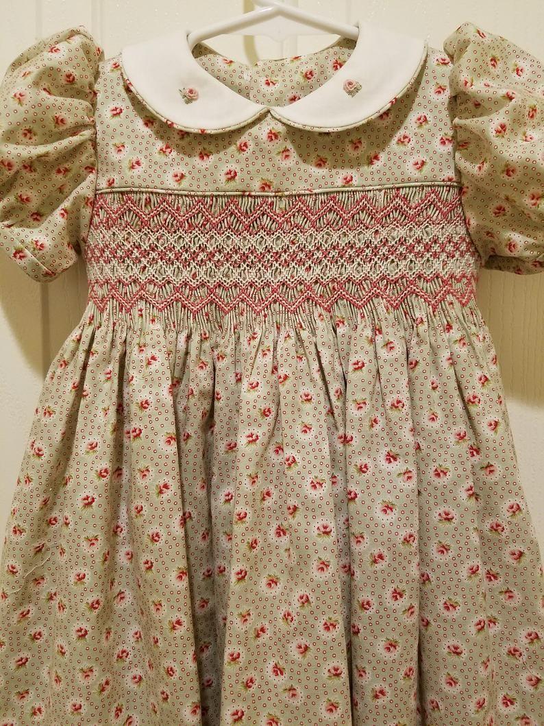 10++ Smocked dress pattern information