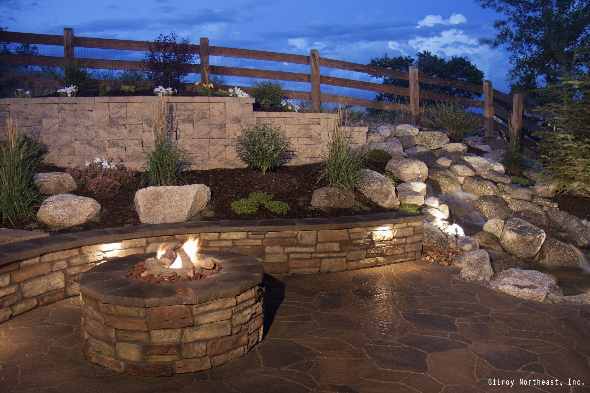 7 DIY Ways To Make Your Patio Awesome   Stone retaining ... on Patio Stone Wall Ideas id=16330