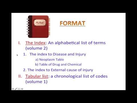 ICD-10 for kindergarten - Introduction to ICD-10-CM - Lesson