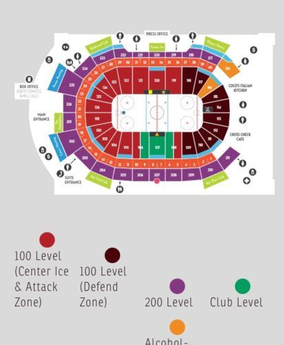 Front Row Hershey Bears - 3 Tickets, Section 106 *** MARCH 4 For
