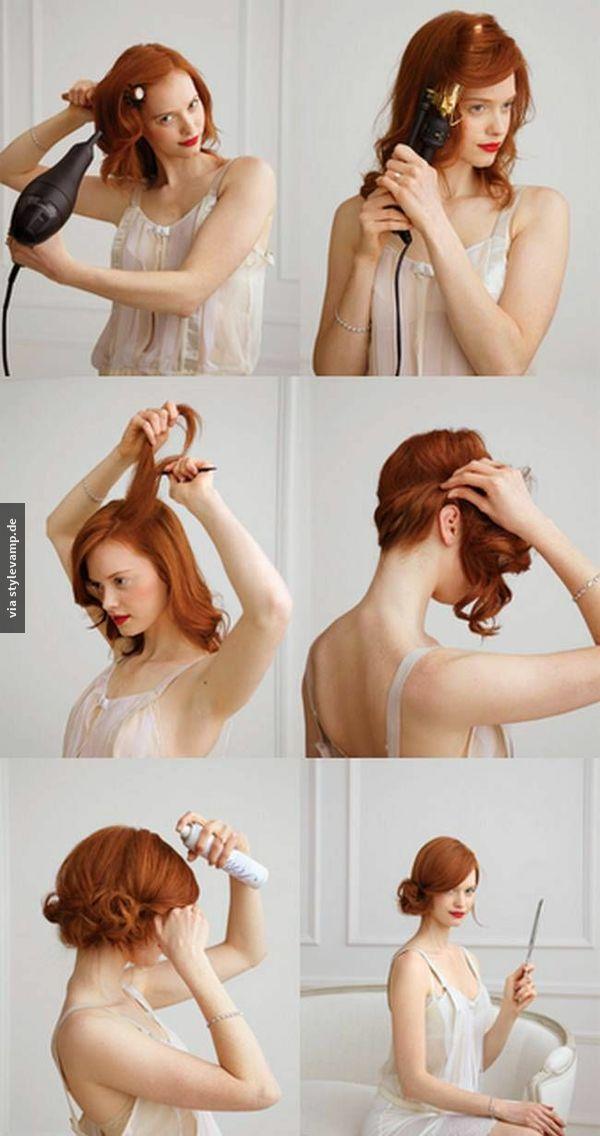 Das Ist Die Perfekte Partyfrisur My Style Frisuren Fruhling