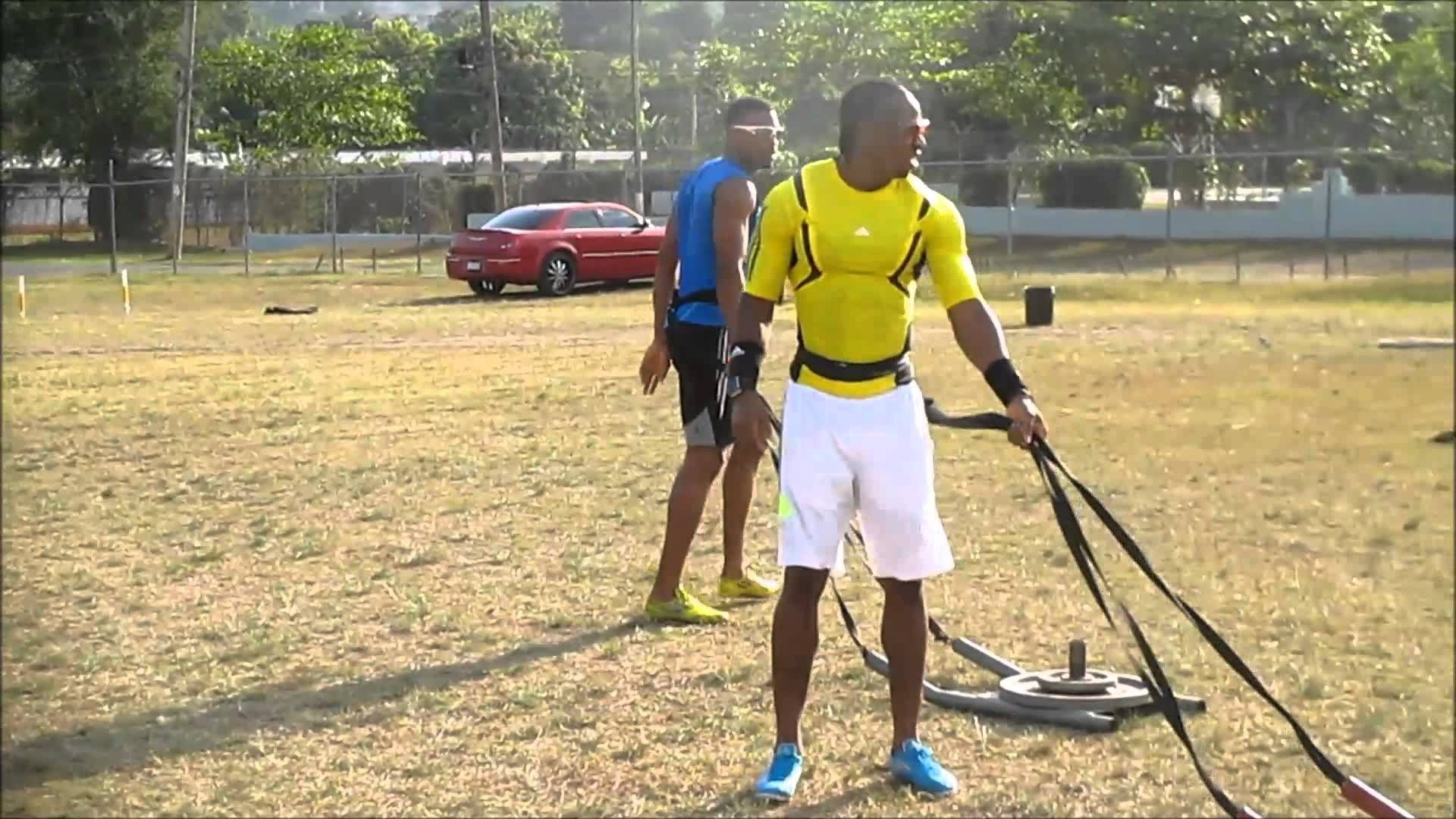 Yohan Blake And Warren Weir Workout Clips (With images) | Workout, Clips, Fitness