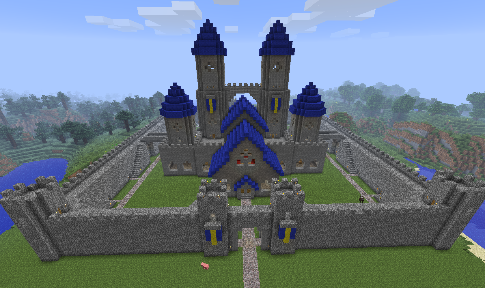 Minecraft castles builders needed minecraft forum for Build a castle house