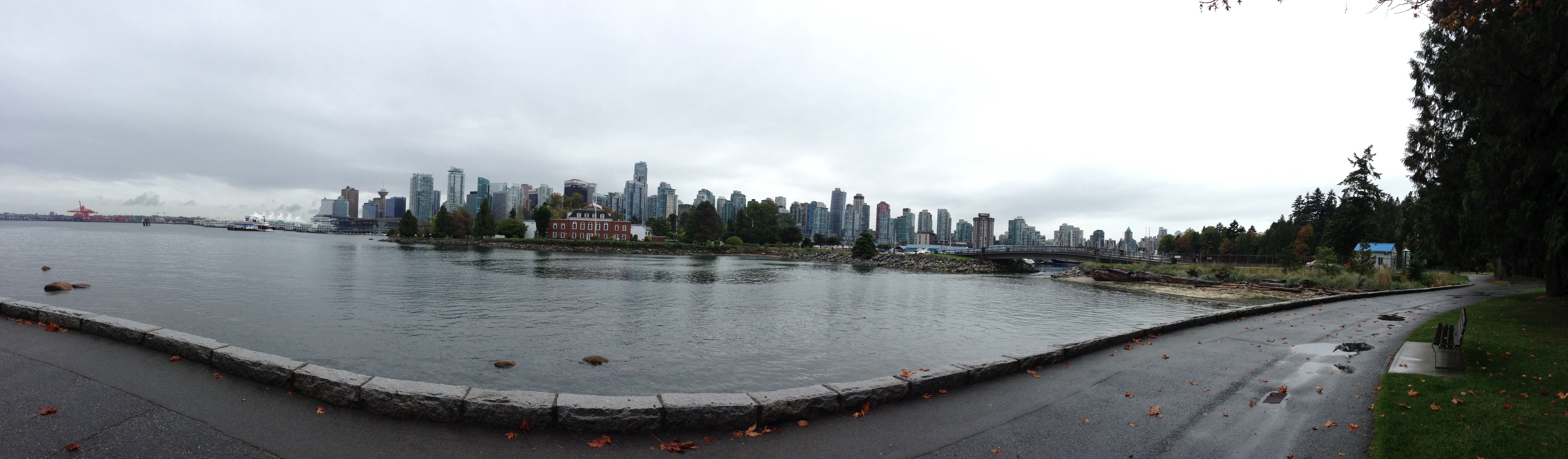 Soggy day in Vancouver BC