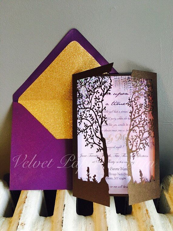 Enchanted Forest Magical Garden Sweet 16 Quinceañera by