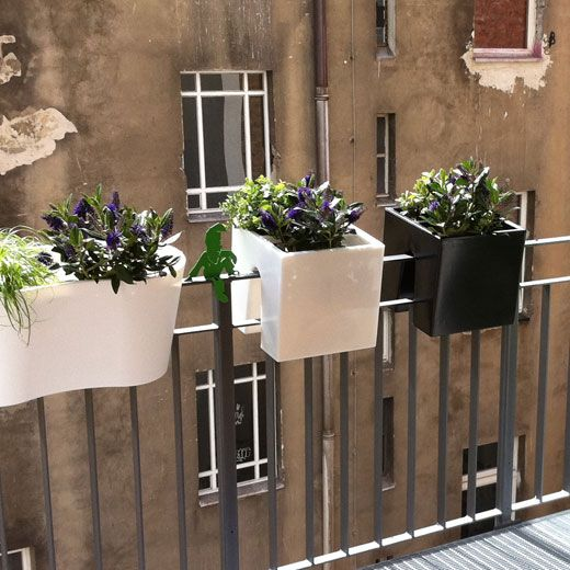 rephorm Design for the balcony / Design for the balcony Jardines - balkon ideen blumenkasten gelander