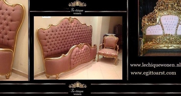 Barok Slaapkamer Meubels : Overzicht slaapkamer meubels le chique wonen baroqu bedroom