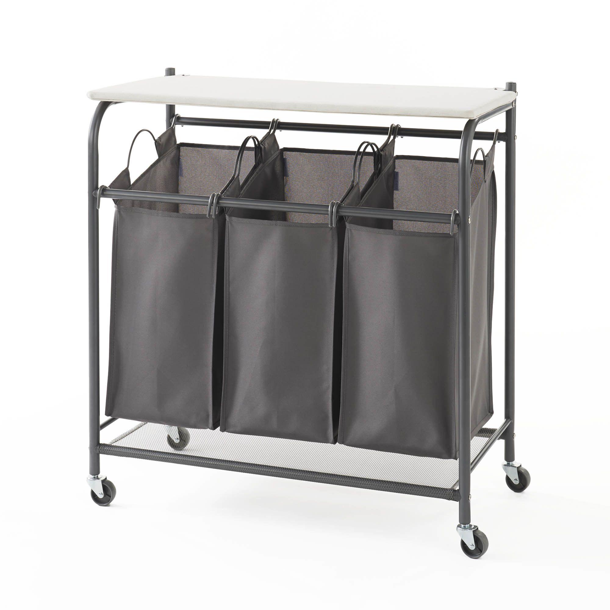 Triple Laundry Center Laundry Center Laundry Sorter Iron Board