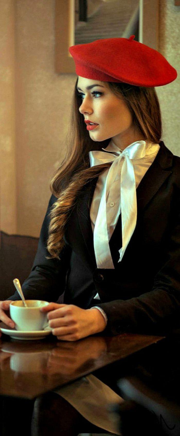Caban vintage femme