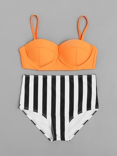 Bustier-Bikini HIS Damenmode Bustier-Bikinis Damen Basic Bikinis