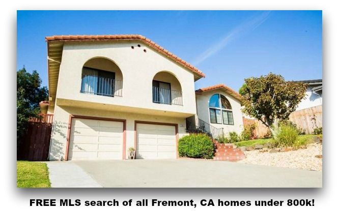 Free Mls Search Of All Fremont Ca Homes Under 800k House