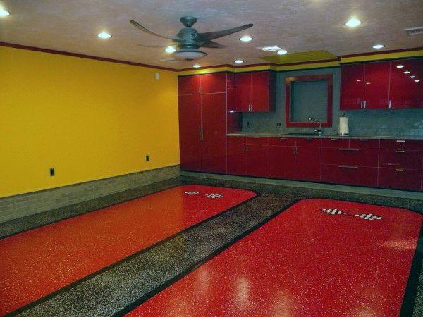 50 garage paint ideas for men masculine wall colors and themes garage paint garage paint. Black Bedroom Furniture Sets. Home Design Ideas