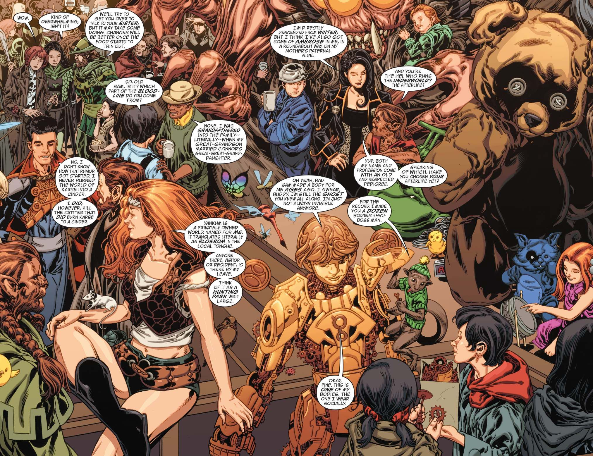 Read Comics Online Free Fables Chapter 150 Page 114 Read Comics Online Free Fables Comic Comics