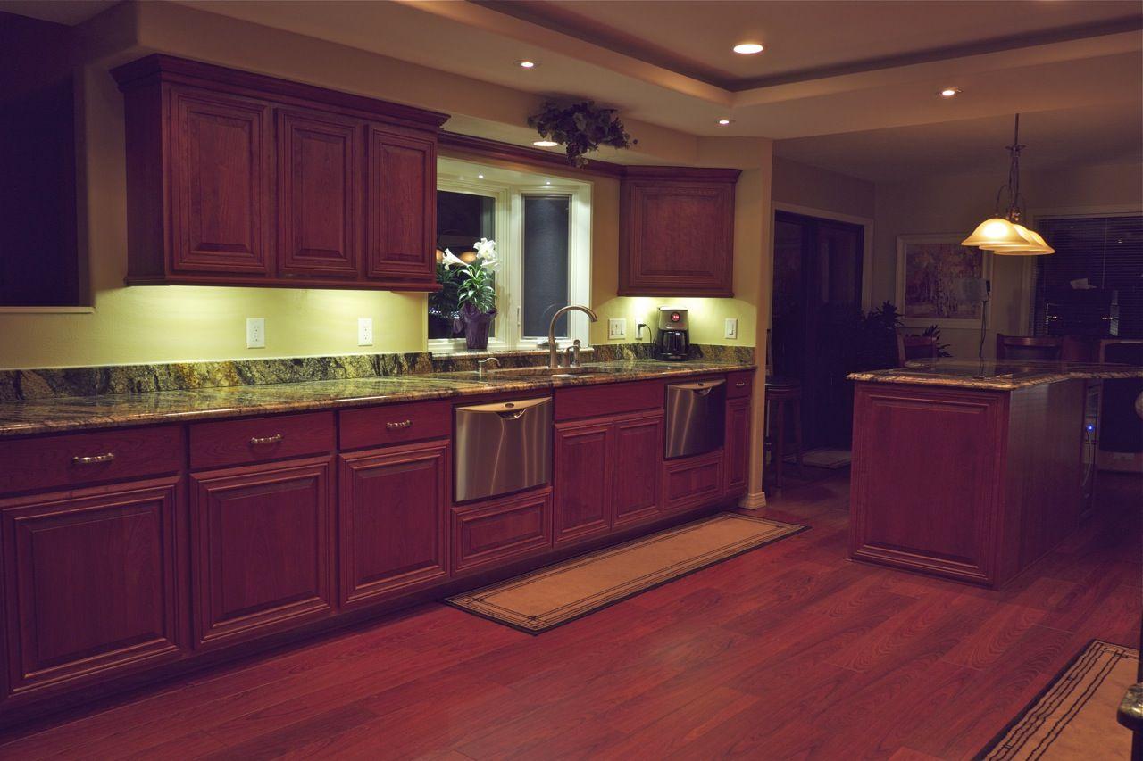 Lighting In Kitchen Cabinet Smd 3528 Led Strip Lights Under Remakes Pinterest And Kitchens