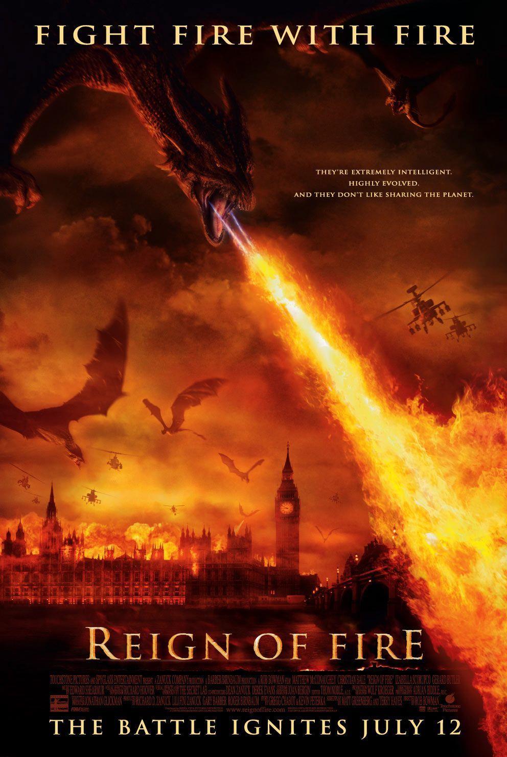 Reign Of Fire PG-13 2002 ‧ Disaster Film/Fantasy