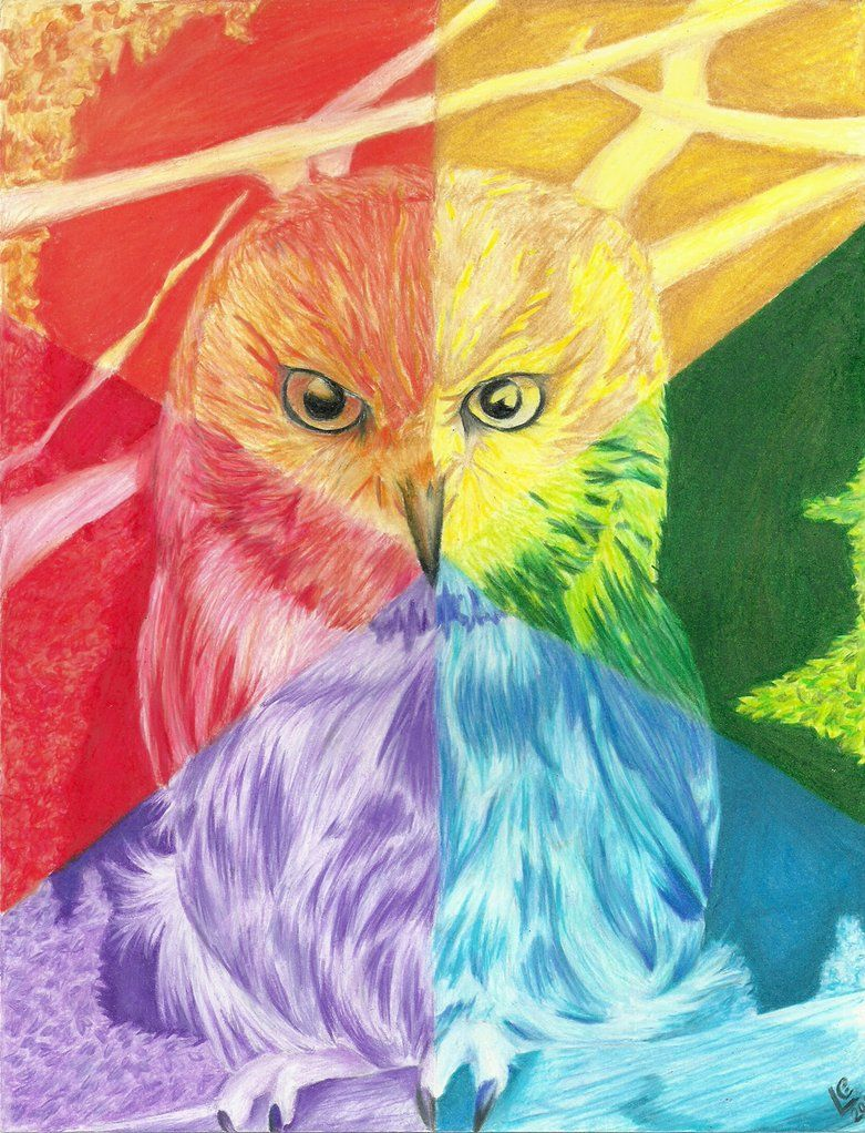 Elements Of Art Color Wheel Project Idea