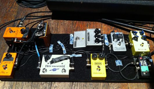 Paul Gilbert\u0027s Pedalboard The Tools We Use TO Rock!!!!
