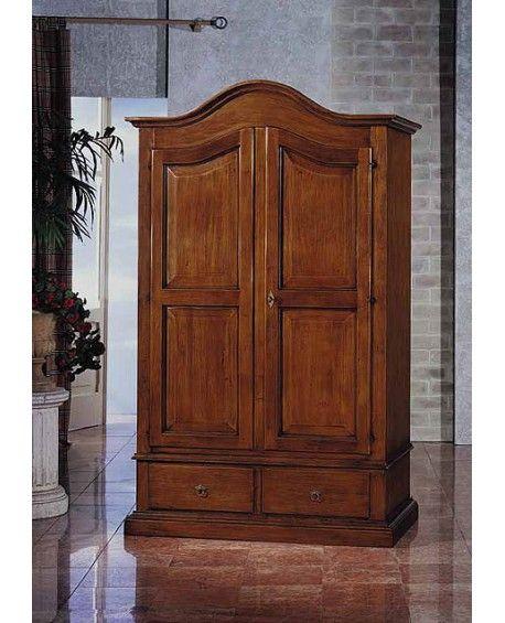 Armadio legno massello a mano l 120 p 60 h 200 Armadio