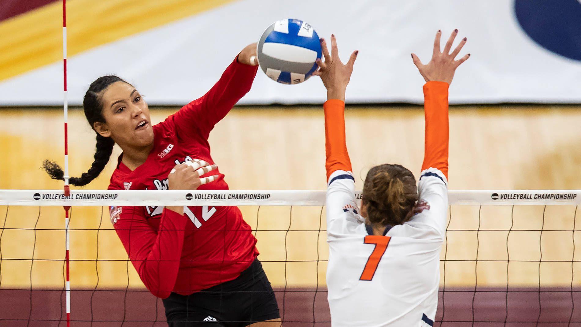 Huskers Announce 2019 Tv Schedule Tv Schedule Nebraska Volleyball