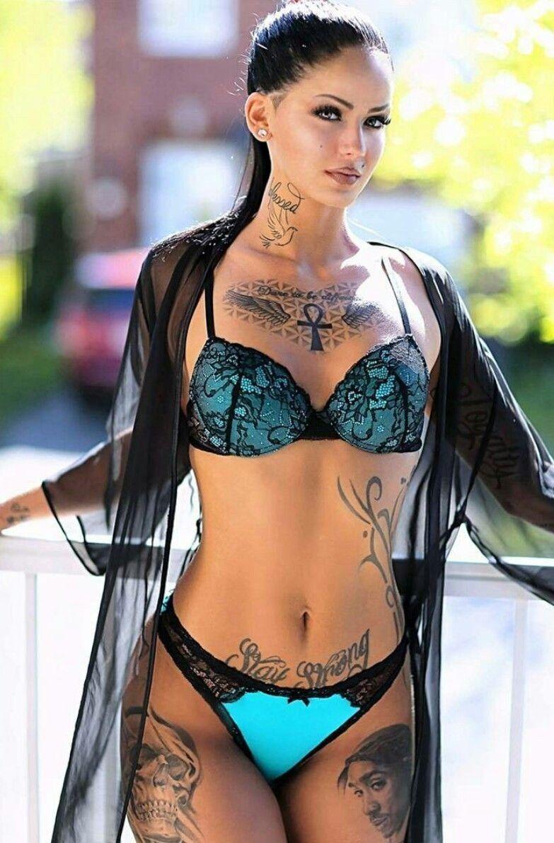 Bikini sexy tattoo