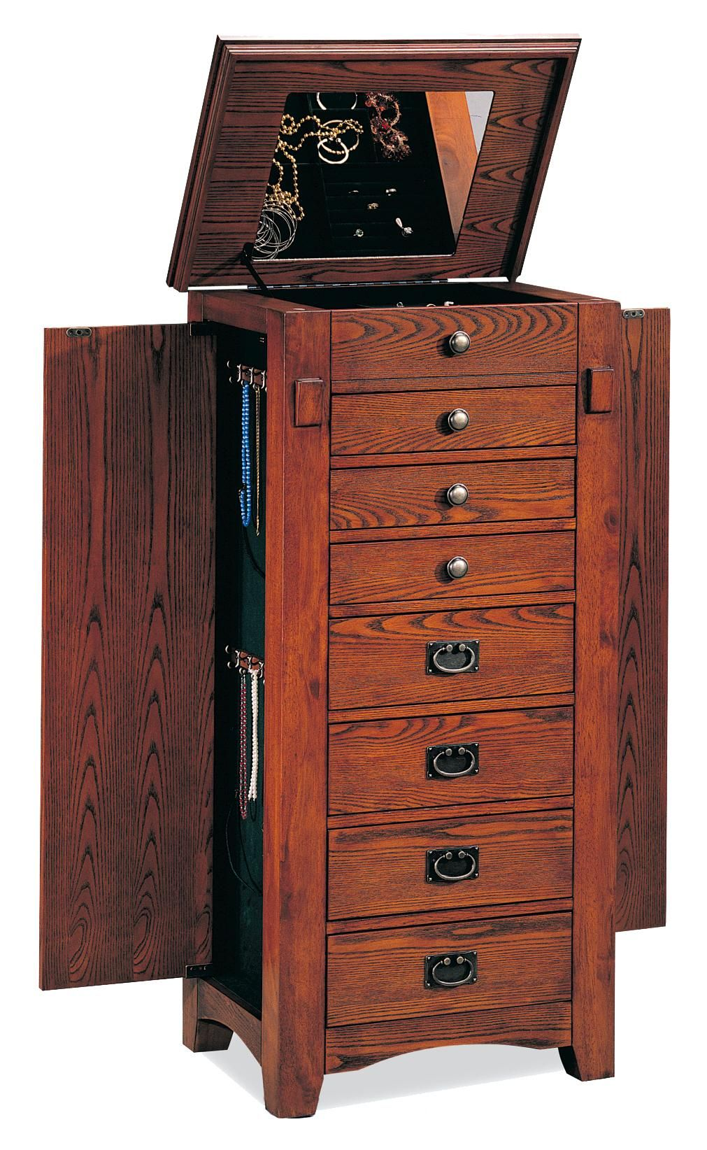 Best Jewelry Armoires Jewelry Armoire By Coaster I Own And I Love Jewelry Armoire Standing 400 x 300