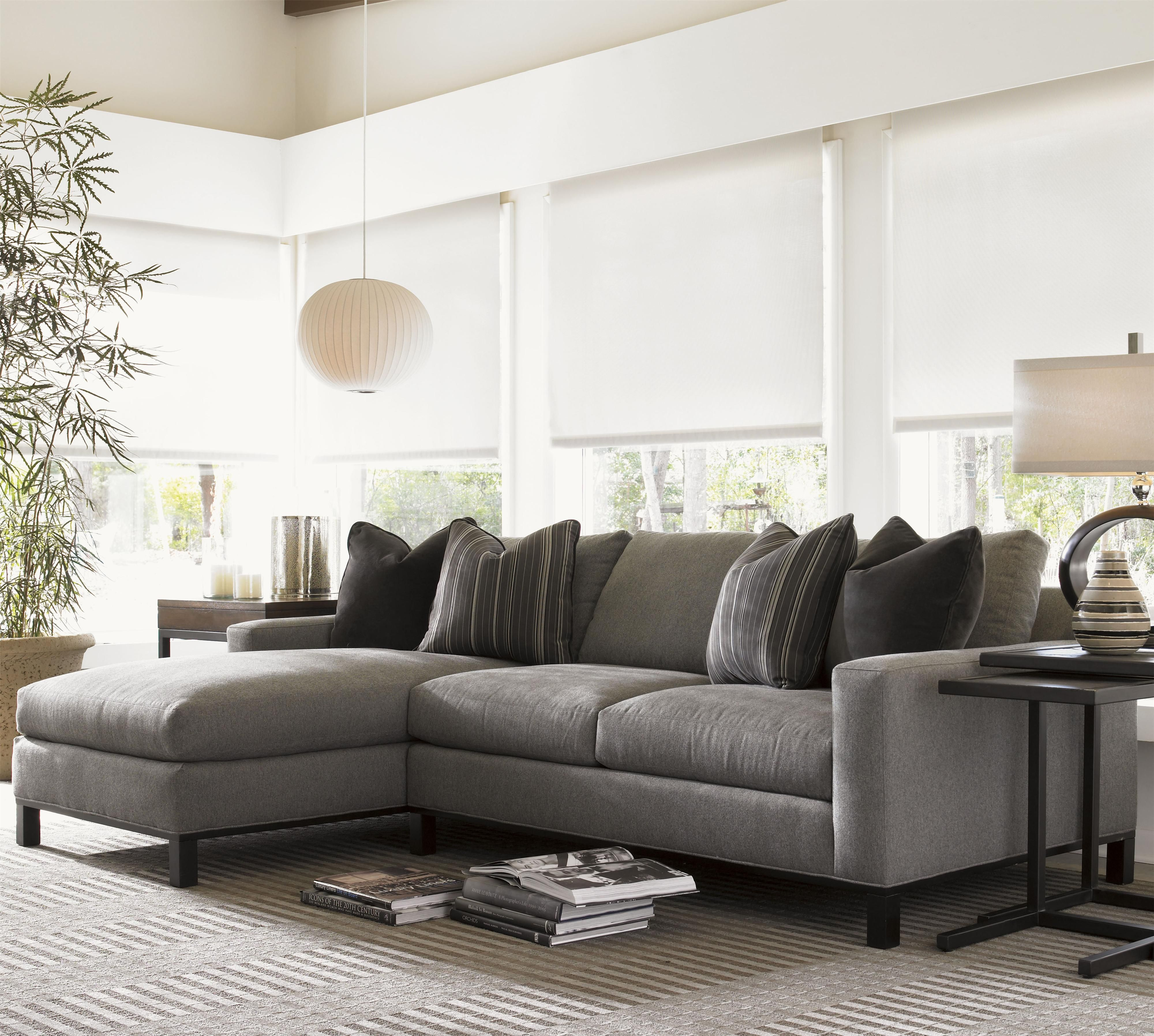 11 South 2 Piece Upholstered Chronicle Sectional By Lexington Home Brands Design Interiors