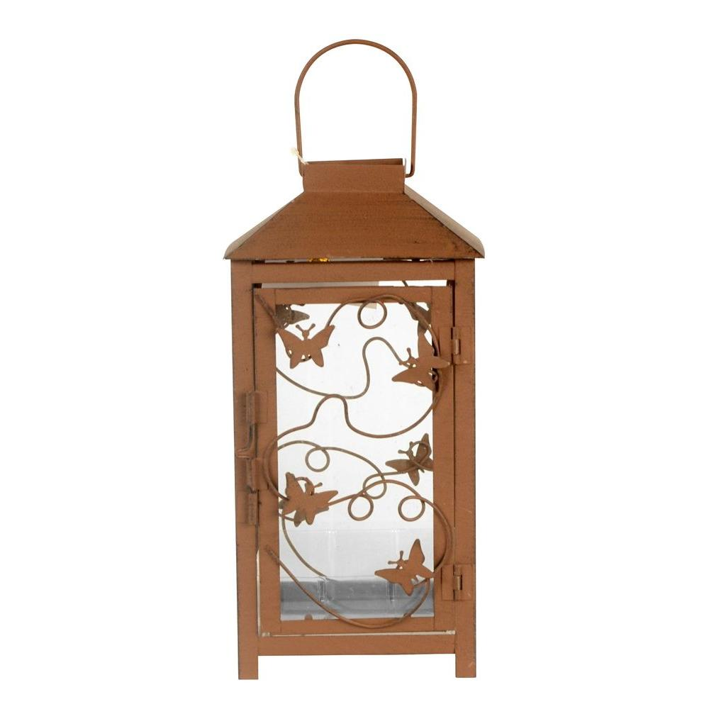 Gentil Arcadia Garden Products Sorrento 5 In. X 10 In. Glass And Metal Lantern  Terrarium TE10   The Home Depot