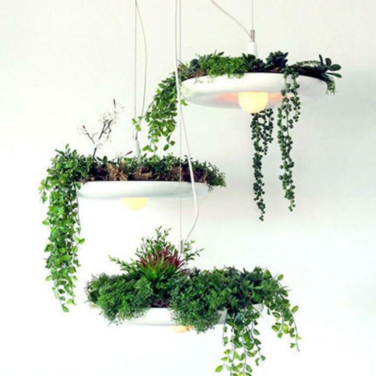 Plantas colgantes ideas para el interior decor with - Plantas colgantes interior ...