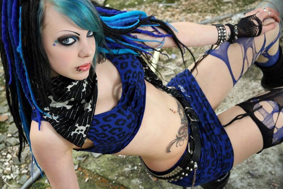 Sexy cyber goth girl