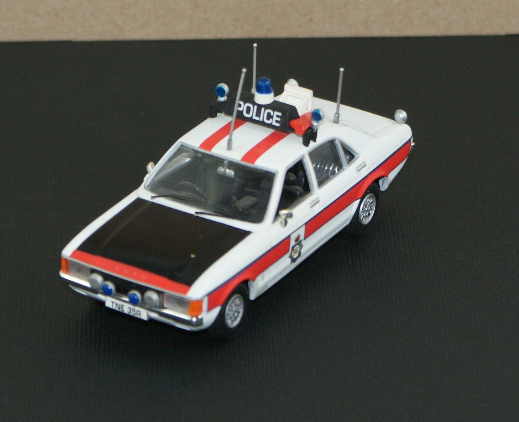 A Ford Granada Police Car Manchester