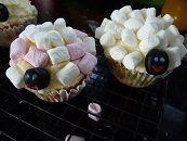 'Sheep' cupcakes